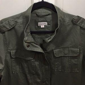 Merona cotton army jacket